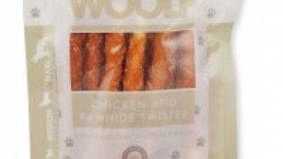 Woolf   kippentwister met rawhide