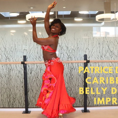 Caribbean Belly Dancer Patrice D'Evans