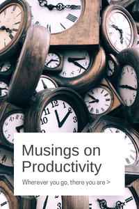 Productivity curse