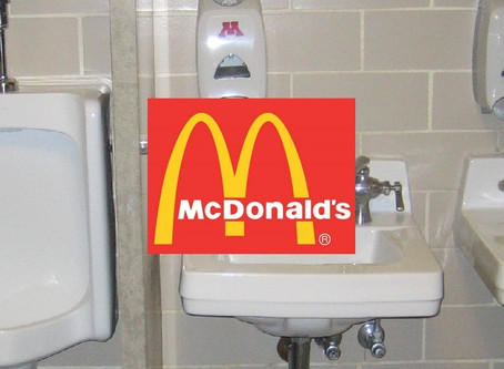 The McDonald's Hand Dryer Made My Hands Even Wetter!!!!