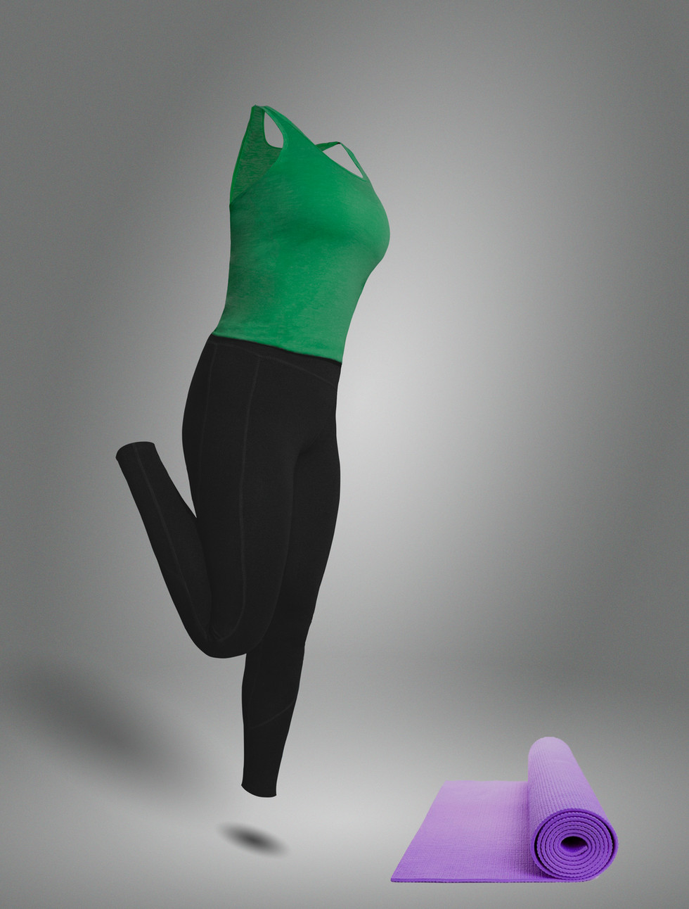 Flexing Leg