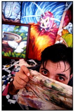 Julio Wright - Painter