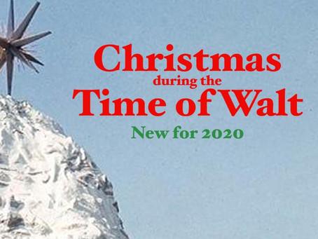 Seasonal 6 - Christmas during the Time of Walt