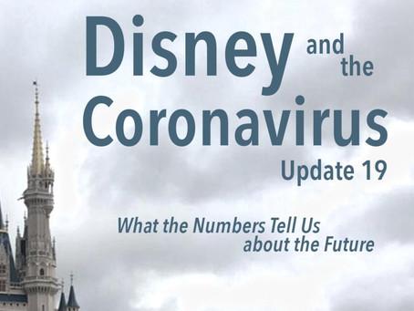 Disney and the Coronavirus - Update 19
