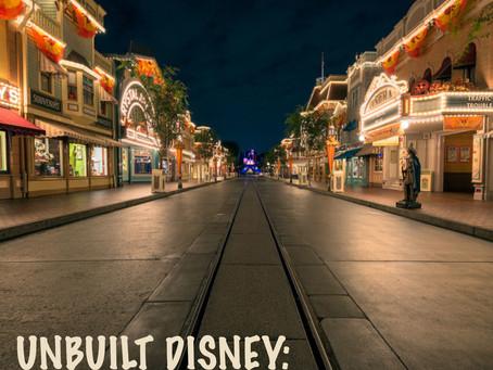 Unbuilt Disney - Hollywoodland