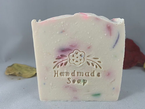 Goat milk with mint soap