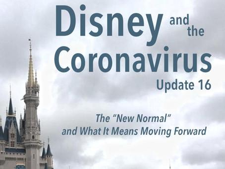 Disney and the Coronavirus - Update 16