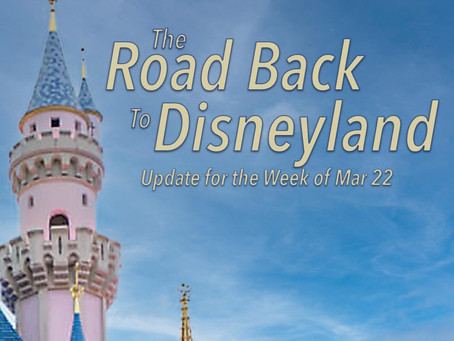 DHI Podcast - The Road Back to Disneyland - Update for the Week of Mar 22