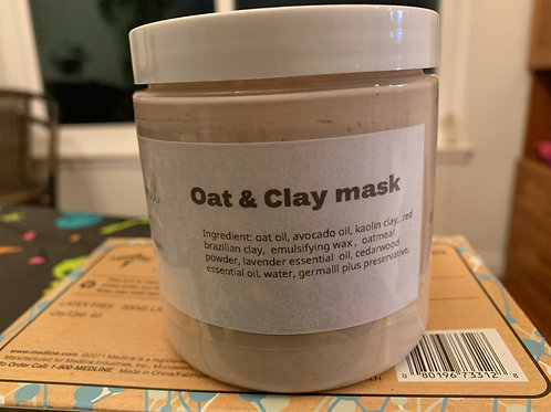 Oat & Clay Mask