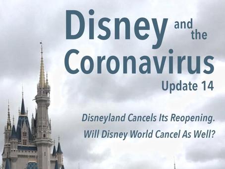 Disney and the Coronavirus - Update 14