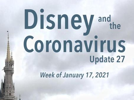 DHI Podcast - Disney and the Coronavirus - Update 27