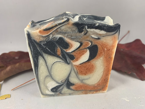 Paprika with active charcoal soap