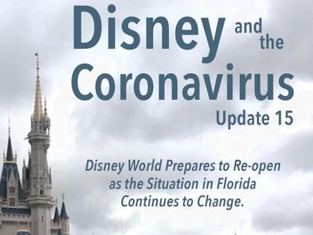 Disney and the Coronavirus - Update 15