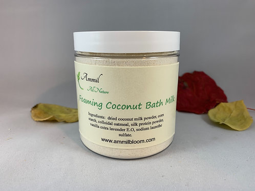 Foaming Coconut Bath Milk