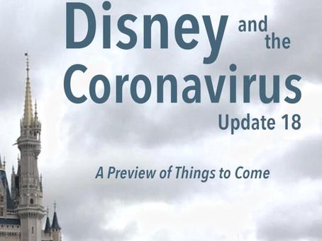 Disney and the Coronavirus - Update 18