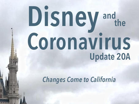 Disney and the Coronavirus - Update 20