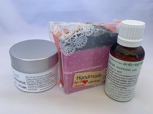 Frankincense Anti-aging Facial Serum with Coenzyme Q10 + Frankincense face cream