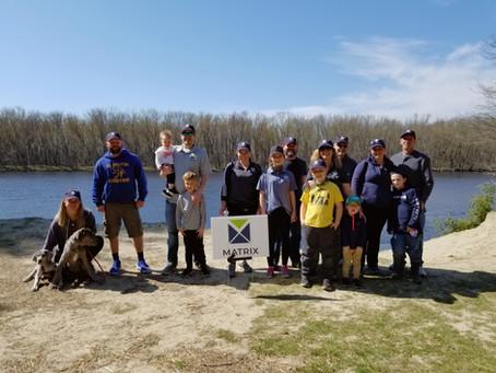 MATRIX raises $2,240 for Parkinson's Unity Walk.