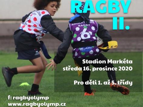 Školní turnaj ragby 14.prosince 2020