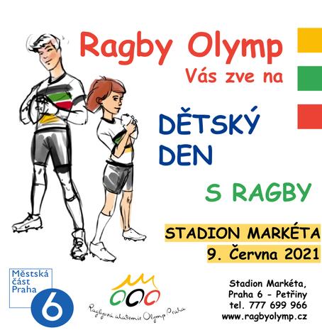 Dětský den s Ragby  9.června 2021