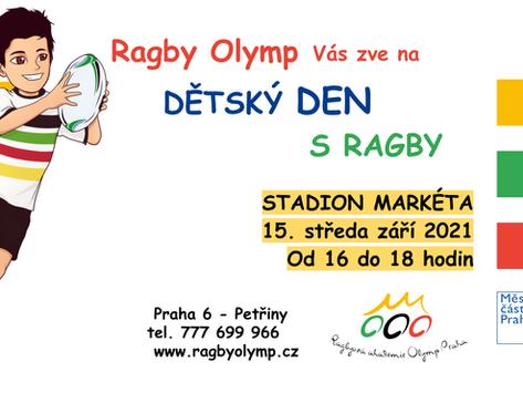 Dětský den s Ragby 15. září 2021