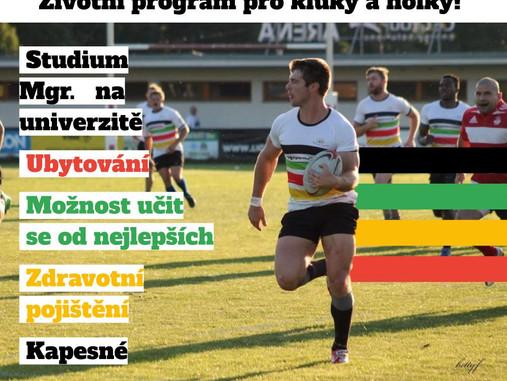 """Motivační stipendijní program """"Olymp Ragby"""""""