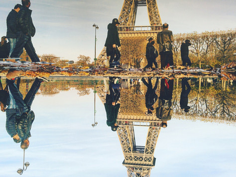 The Parallel Worlds of Puddles in Paris