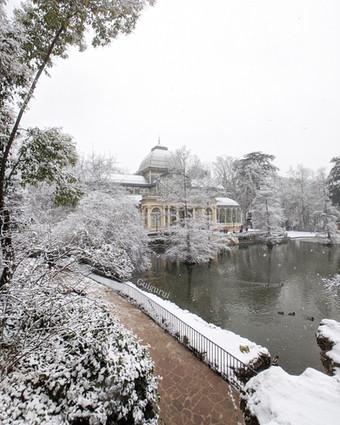 The snowstorm of the century in Madrid - La tormenta de nieve del siglo en Madrid