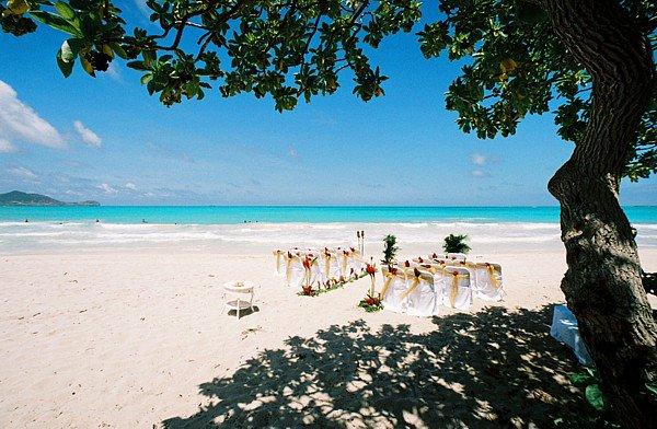 ISLAND BEACH WEDDING MAURITIUS