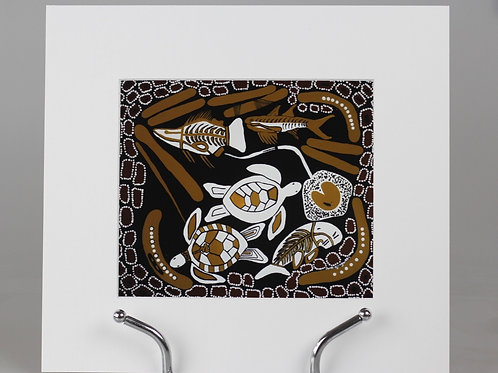 Print - Traditional Fish Trap