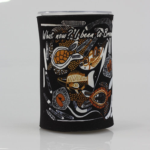 Stubby Holder - Traditional Fishing Season Detailed