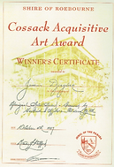 Cossack Award 1997