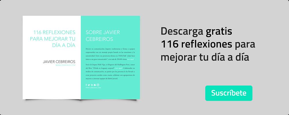 116 reflexiones para mejorar tu día a día - Javier Cebreiros