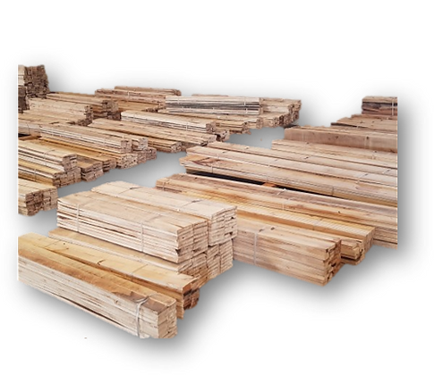 Kleine Paulownia-Holz-Mengen