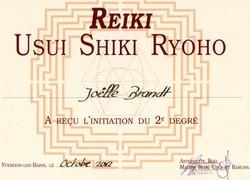 Reiki Usui 2ème degré