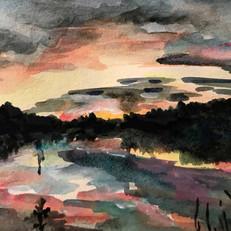Smallwood Lake Sunset
