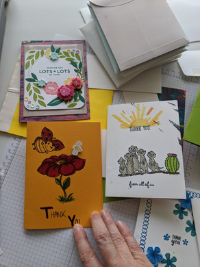 Need Inspiration? Check out some of your peers beautiful Cards!