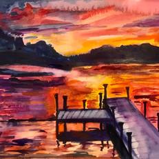 White Lake Sunset