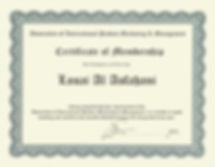 AIPMM Membership Certificate 2013.jpeg