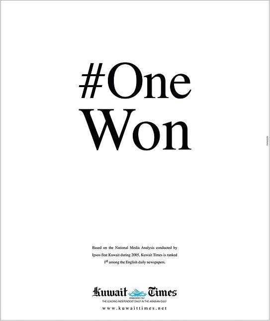 Kuwait times-No.1 Won.jpg
