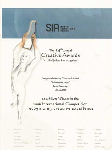 14th Summit Awards_Labaguette Logo_Silve