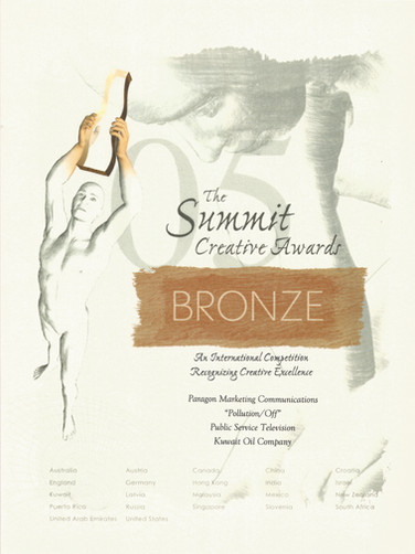 2005 Summit Awards_Pollution_Bronze.jpeg