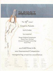 13th Summit Awards_Kuwait Times-Mix Fact
