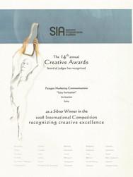 14th Summit Awards_Icity Invitation_Silv