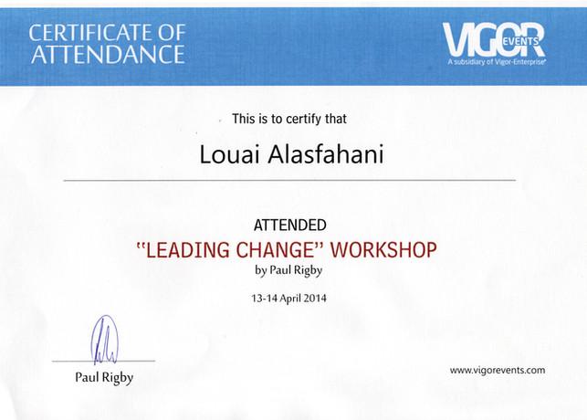 Certificate of attendance_leading change