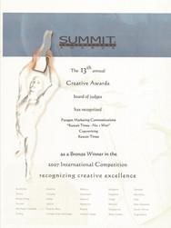 13th Summit Awards_Kuwait Times-No.1 Won