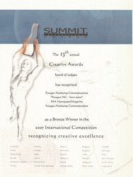 13th Summit Awards_Paragon MC-Save Water