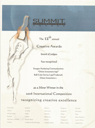 12th Summit Awards_Orient Investment Log