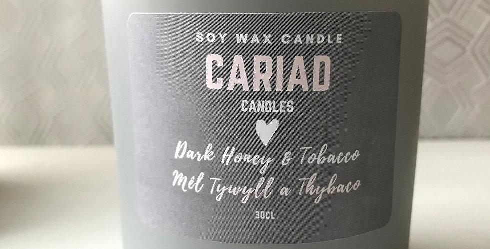 Dark Honey & Tobacco / Mêl Tywyll a Thybaco
