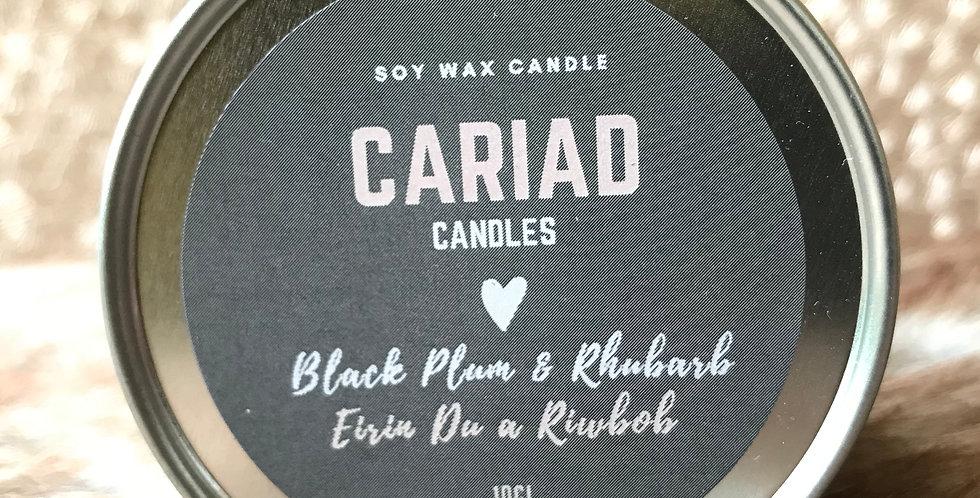 Black Plum & Rhubarb  /  Eirin Du a Riwbob